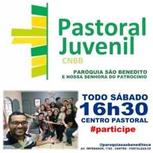 Pastoral Juvenil da Paróquia São Benedito: Participe!
