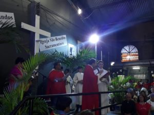 Domingo de Ramos: Fiéis participam da abertura da Semana Santa no Santuário São Benedito