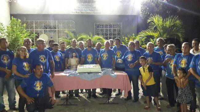 Terço dos Homens da paróquia comemora 13 anos