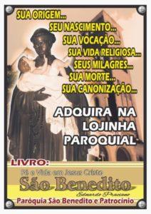 """Dica de Leitura: Livro """"Fé e Vida em Jesus Cristo: São Benedito"""" de Ednardo Praciano"""