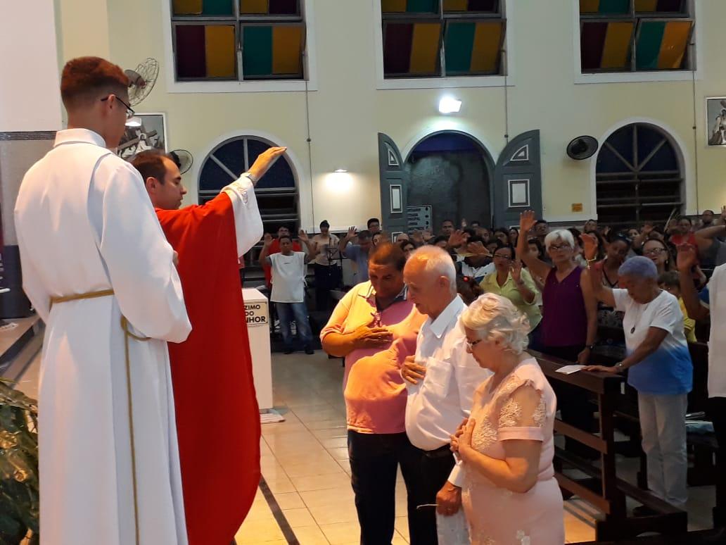 ECC São Benedito realiza Missa em homenagem aos casais aniversariantes do mês de Março