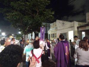 Realizada Via Sacra Itinerante 2018