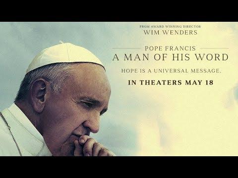 """Documentário """"Papa Francisco: Um Homem de Palavra"""" estréia dia 18 de maio nos cinemas"""