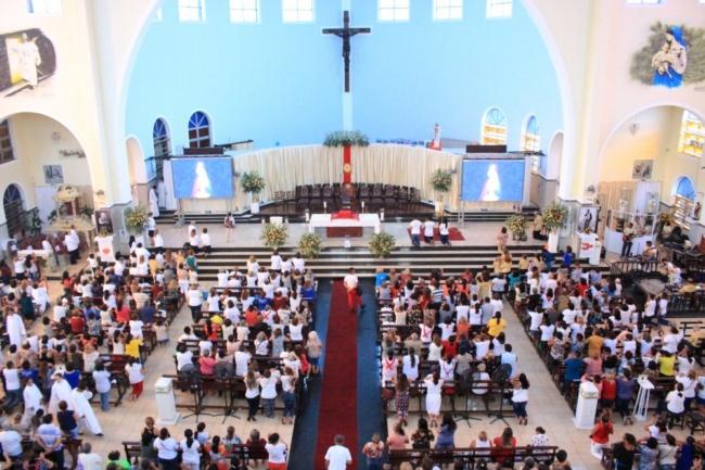 Fiéis celebram Festa da Divina Misericórdia 2018