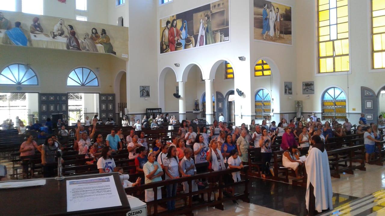 Caravana Dom Bosco visita Paróquia São Benedito