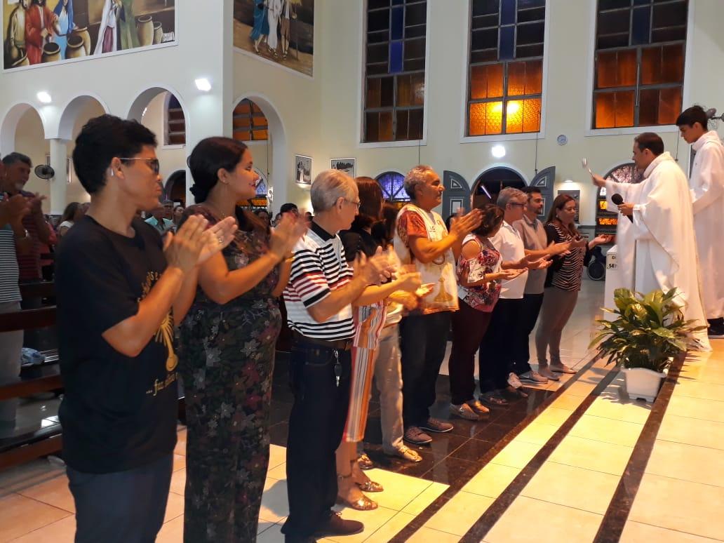 ECC São Benedito realiza Missa em homenagem aos casais aniversariantes do mês de Junho