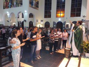 ECC São Benedito realiza Missa em homenagem aos casais aniversariantes do mês de Julho