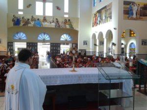 Caravana Dom Bosco participa da Semana Nacional da Família na Paróquia São Benedito