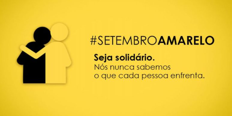 Campanha Setembro Amarelo: O suicídio precisa ser visto com atenção