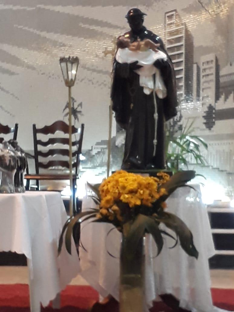 Devotos participam do Tríduo e Festa em louvor a São Benedito