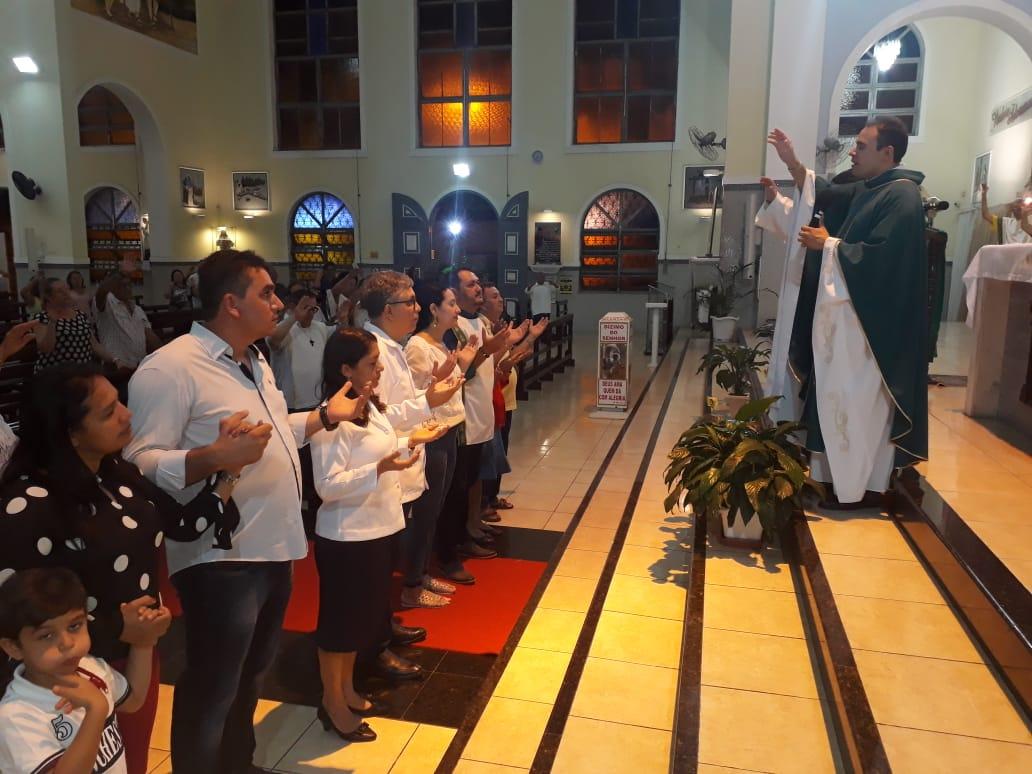ECC São Benedito realiza Missa e Feirinha de Confraternização do mês de Outubro
