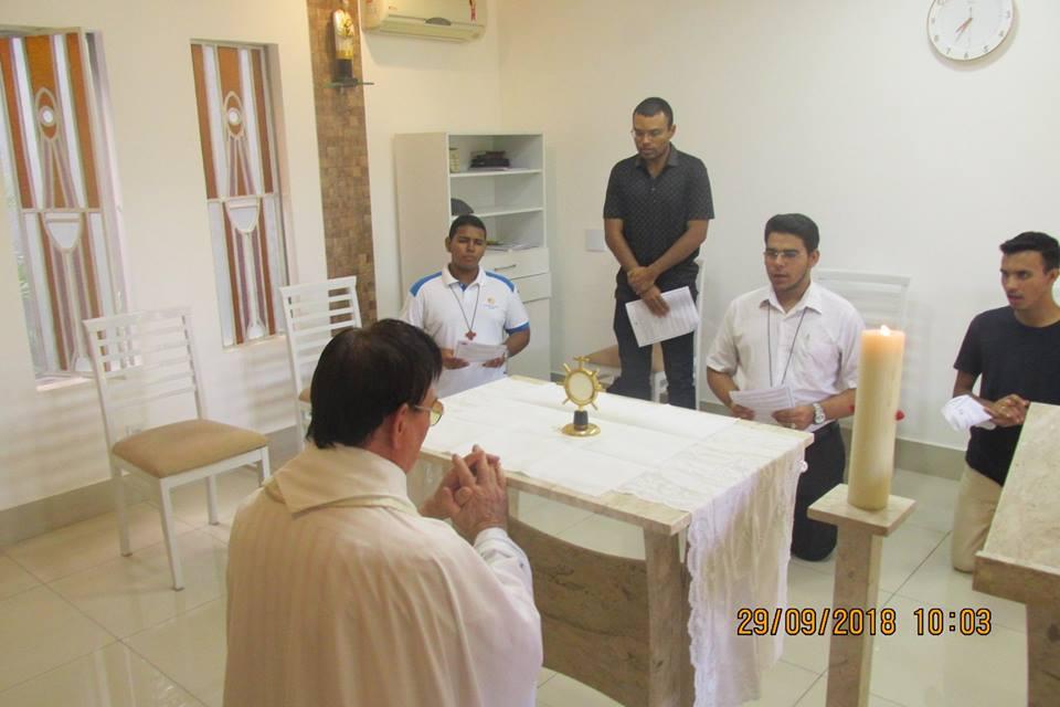 Realizado 7º Encontro Vocacional da Congregação Sacramentina – Regional Nordeste I