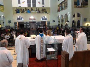 Visita de Pe. Marcelo Carlos,sss, à Comunidade de São Benedito