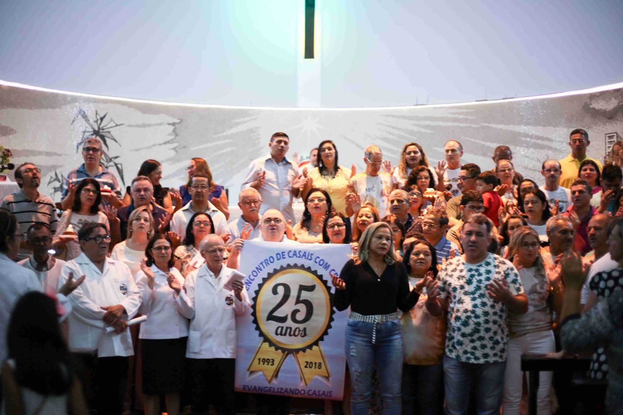 Encontro de Casais com Cristo da Paróquia São Benedito celebra 25 anos