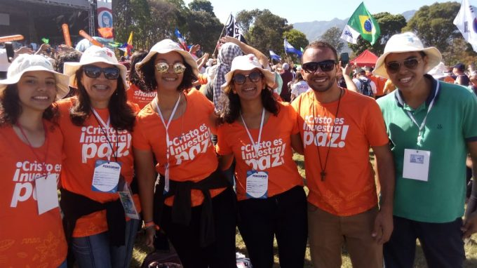 Jovens de Fortaleza participam da JMJ-2019 no Panamá