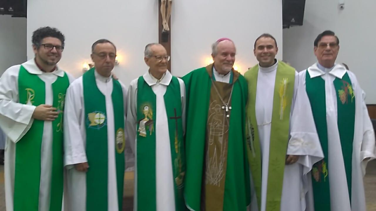 Pe. Jackson Frota,sss assume Reitoria do Santuário Eucarístico São Pedro Julião Eymard em Sete Lagoas