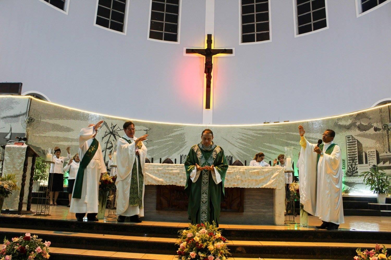 Gratidão e Amor na Missa de Envio de Pe. Jackson Frota, sss