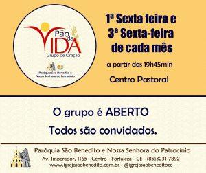 Grupo de Oração Pão da Vida, convida para momento de Oração e louvor dia 15/03