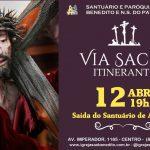 Programação da Semana Santa terá início com Via Sacra Itinerante dia 12/04