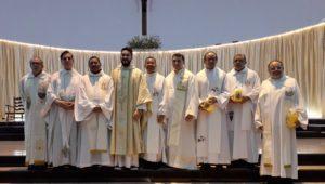 Paróquia Santíssima Trindade participa da 81ª Semana Eucarística no Santuário São Benedito