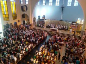 Fiéis celebram a Solenidade de Corpus Christi com Missa Solene no Santuário Paróquia São Benedito