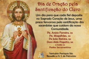 Dia de oração pela santificação dos Sacerdotes 28/06