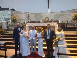 Paróquia São Benedito celebra na Semana Nacional da Família 2019 o Casamento Religioso Comunitário