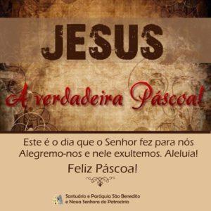 Feliz Páscoa! Jesus Ressuscitou aleluia. Sim, verdadeiramente Ressuscitou aleluia.