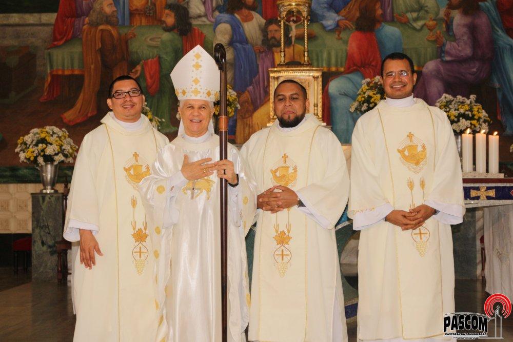 Três novos Diáconos para a Congregação do Santíssimo Sacramento e para a Igreja