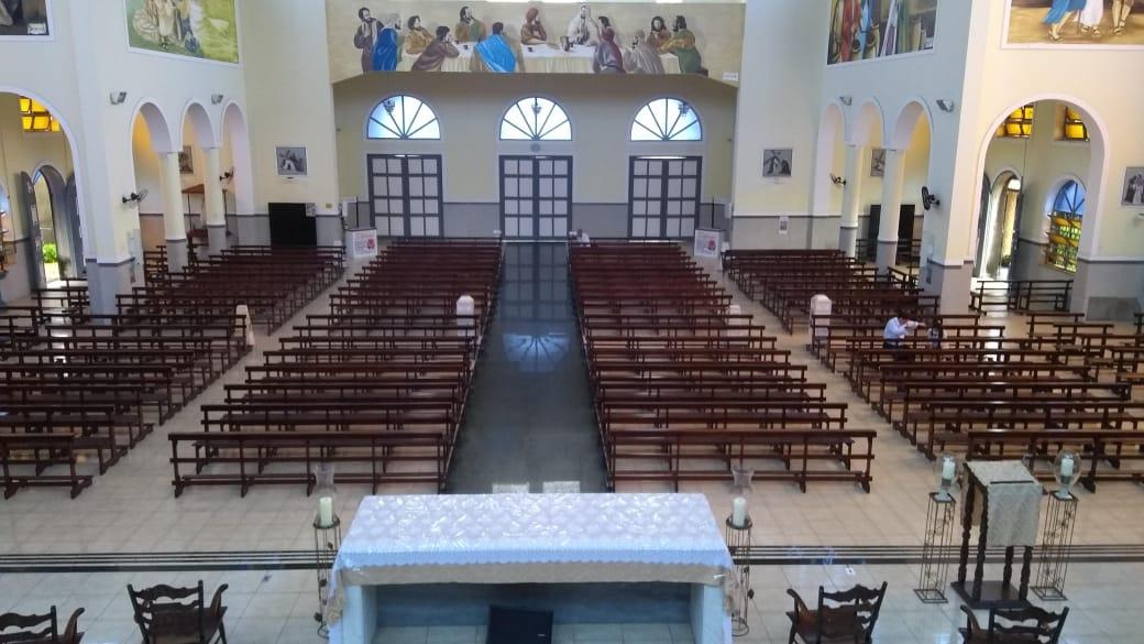 Horários das missas e orientações aos fiéis para reabertura das Igrejas de São Benedito e do Patrocínio
