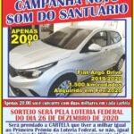Campanha Amigos do Santuário – Rifa de um Fiat Argo Drive 2019/2020