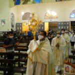 Santuário e Paróquia São Benedito realiza encerramento da 82ª Semana Eucarística na Solenidade de Cristo Rei