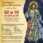 Participe da Novena em preparação para a Festa da Misericórdia 2021