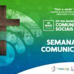 """""""Vinde ver!"""": Começa hoje a Semana da Comunicação com série de lives da Pascom Brasil"""
